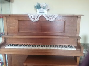 Antique piano for re-homing