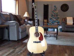 D45 style Kwasnycia Guitar in .Claro Walnut
