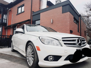 2009 Mercedes-Benz C-Class 4-MATIC Selling As-Is