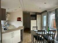 Nearly New Static Caravan For Sale On Lido Beach