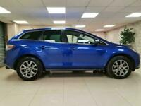 Mazda CX-7 2.3 DISI Blue Leather 1 Owner 256BHP WARRANTY 12 MONTHS MOT FULL SH