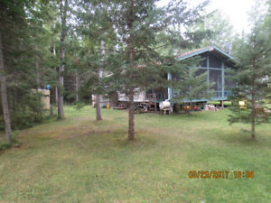 Cabin For Rent in Grindstone Provincial Park