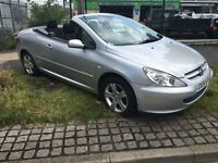 04 Peugeot 307 1.6 cc convertible ready for summer