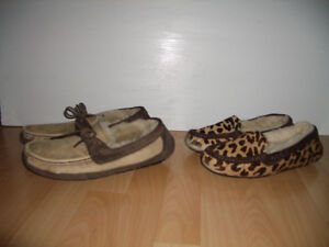 """ UGG "" pantoufles ---- home shoes ---- size 8 - 9 - 10 f"