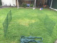 Rabbit/Small dog/ guinea pig run with net cover