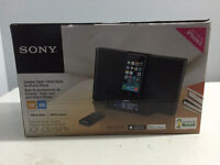 SONY ICF-CS15IPN iPhone/iPod Clock Radio Speaker Dock [SEALED]
