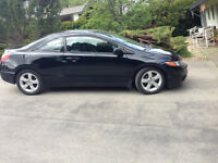 2008 Honda Civic EXL Coupe only 84,000 km*** 5 speed