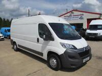 2016 66 reg CITROEN RELAY L3 H2 (Euro 6) 130 BHP ENTERPRISE WORKSHOP UTILITY VAN