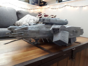 Nostromo spaceship model from Alien - custom made from scratch.