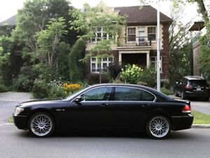 BMW 760 li - 2003 in perfect condition with only 120 560 km