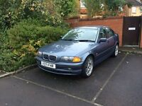 """BMW 318 SE 1999 with 19"""" M3 alloys. Broken engine but in great conditions overall"""