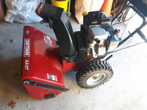 Snow Blower  with Snow Thrower Cab