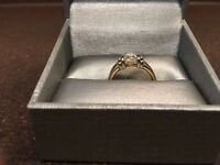 Solitaire Cushion Cut Diamond Ring *PRICE REDUCED*