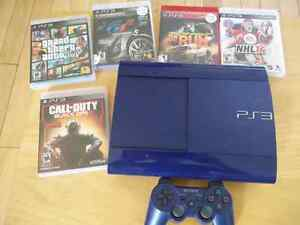 Play Station 3,  Call of Duty, GTA5, Grand Tourismo, NHL14