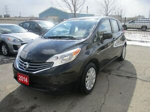 2014 NISSAN  VERSA NOTE SV ONLY 24,000 KM !!! NO ACCIDENT !!!