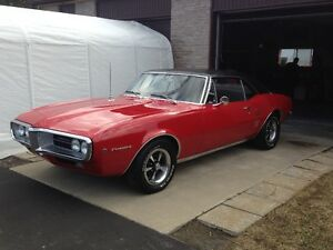 Rare!!! Survivor 1967 Firebird 326 all original