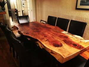 2 day sale live edge dining room tables