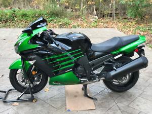 Kawasaki ZX-14R  Green/Black