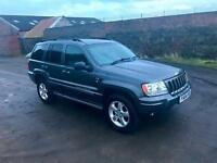 2004 Jeep Grand Cherokee 2.7 CRD Overland Station Wagon 4x4 5dr