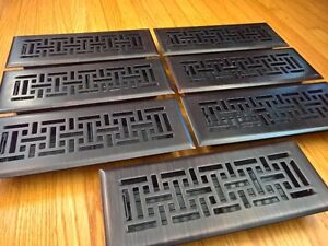 Floor registers (oil-rubbed bronze) for sale x 6