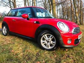 *12 MTHS WARRANTY*FULL SERVICE RECORD*2010(60)MINI ONE 1.6 DIESEL*