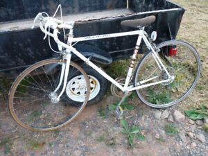 Vintage Canadian Tire Supercycle Medalist White Bicycle