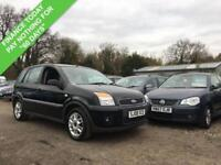 2008 08 FORD FUSION 1.4 ZETEC CLIMATE 5DR 78 BHP