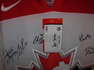 2009 World Junior Signed Authenic Gold Medal Jersey Sarnia Sarnia Area image 2
