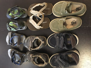 Gently used/Some New Size 5 Baby Boy Shoes