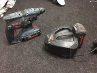 Bosch GBH 36V-EC compact 36 volt cordless with 2 battery's