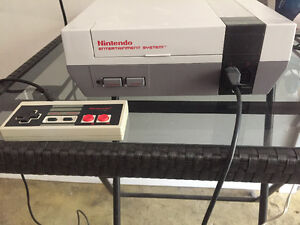 NES system with one controller