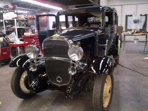 Classic car and truck restoration