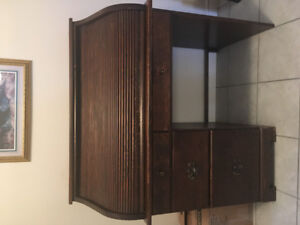 Roll Top Desk Antique - Reduced Price