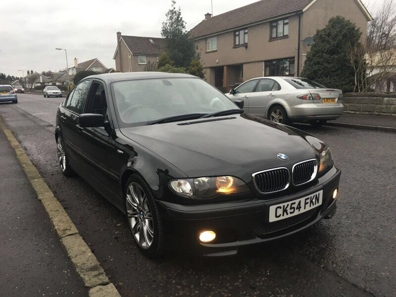2004 bmw 330d m sport auto 204 bhp facelift leathers full service history 320d e46 530d. Black Bedroom Furniture Sets. Home Design Ideas