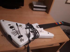 Guitare héro Xbox 360/PC