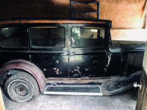 Antique Car 1931 Plymouth