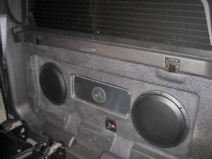 Chevrolet Avalanche Cadillac Escalade EXT JL Audio Stealthbox