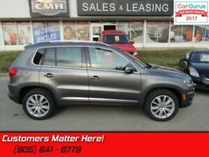 2014 Volkswagen Tiguan Highline  AWD, LEATHER, SUNROOF, HEATED S