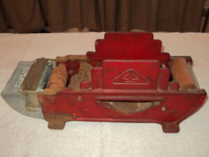 ANTIQUE INDUSTRIAL CAST IRON TAPE DISPENSER - 1920's
