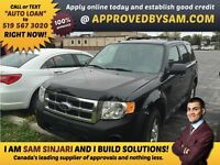 "UPGRADES MADE EASY - ESCAPE - TEXT ""AUTO LOAN"" TO 519 567 3020"
