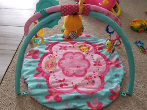 Bright Starts activity mat and gym
