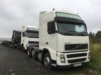 Volvo FH12 58 and 54 DAF XF105