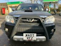 2007 plate -Toyota Fortunner - 7 seater - year mot - 104k miles - part history