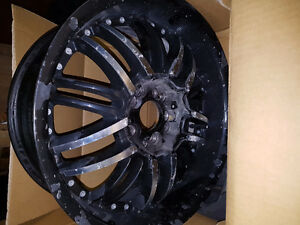 Jantes chromées sport- Starr  Wheels YH1001 SWG664  17x 7.5 J