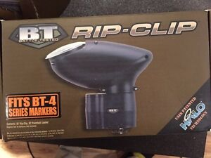BT Omega Paintball Marker, and rip clip auto feeding clip London Ontario image 4