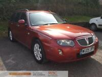 ROVER 75 CONNOISSEUR CDTI TOURER Red Manual Diesel, 2005