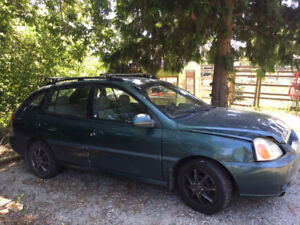 2005 Kia Rio for a Parts Car - engine and transmission excellent