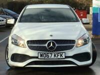 2017 Mercedes-Benz A Class A160 AMG Line 5dr Hatchback Petrol Manual