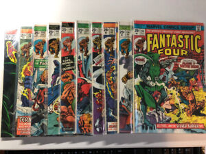 FANTASTIC FOUR comics lot of 56 issues from 144-200 $395 OBO