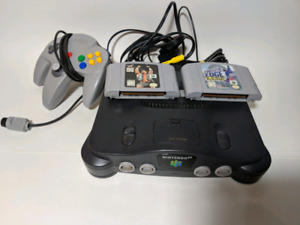 Nintendo 64 system and games